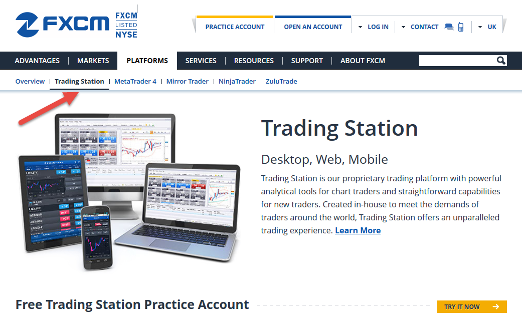Fxcm trading station strategy trader
